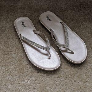 Mossimo Studded Flip Flops